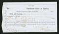 Confederate Notes:Group Lots, Interim Depository Receipt Charleston, (SC)- $500 Apr. 1, 1864Tremmel SC-37.. ...