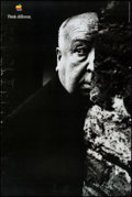 """Movie Posters:Hitchcock, Alfred Hitchcock for Apple Computers (Apple, 1997). Advertising Poster (24"""" X 36""""). Hitchcock.. ..."""