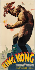 "Movie Posters:Horror, King Kong (S2 Art Group, 1997). Reproduction Three Sheet (41"" X84""). Horror.. ..."