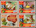 "Movie Posters:Animation, The Adventures of Ichabod and Mr. Toad (RKO, 1949). Title Lobby Card & Lobby Cards (3) (11"" X 14""). Animation.. ... (Total: 4 Items)"
