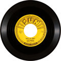 "Music Memorabilia:Recordings, Elvis Presley ""That's All Right"" 45 - His First Single (Sun 209, 1954)...."