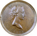 1792 P25C Copper Quarter Dollar, Judd-12, Pollock-14 MS63 Brown NGC. CAC....(PCGS# 11033)