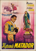 "Movie Posters:Romance, The Magnificent Matador (20th Century Fox, 1956). Italian 4 - Foglio (55"" X 76.5""). Romance.. ..."