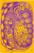 Music Memorabilia:Posters, The Who/Loading Zone Fillmore Concert Poster BG-68 (Bill Graham,1967)....