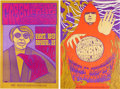 Music Memorabilia:Posters, Cream Fillmore Concert Poster Group (Bill Graham, 1967).... (Total:2 Items)