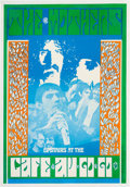 Music Memorabilia:Posters, Frank Zappa/The Mothers of Invention Cafe au Go Go Concert Poster(1967)....