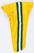 Football Collectibles:Uniforms, 2000 Green Bay Packers Game Worn Pants....