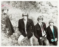 Music Memorabilia:Autographs and Signed Items, The Byrds Signed Black and White Photograph (c. 1966)....