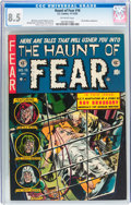 Golden Age (1938-1955):Horror, Haunt of Fear #16 (EC, 1952) CGC VF+ 8.5 Off-white pages....
