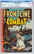 Golden Age (1938-1955):War, Frontline Combat #10 (EC, 1953) CGC VF 8.0 Off-white to whitepages....