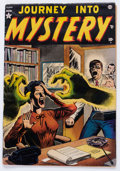 Golden Age (1938-1955):Horror, Journey Into Mystery #1 (Marvel, 1952) Condition: FR....