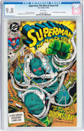 Modern Age (1980-Present):Superhero, Superman: The Man of Steel #18 (DC, 1992) CGC NM/MT 9.8 White pages....
