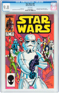 Modern Age (1980-Present):Science Fiction, Star Wars #97 (Marvel, 1985) CGC NM/MT 9.8 White pages....