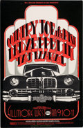 Music Memorabilia:Posters, Country Joe and the Fish/Led Zeppelin Fillmore West Concert PosterBG-155 (Bill Graham, 1969)....