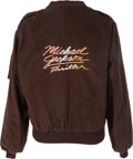 Music Memorabilia:Costumes, Michael Jackson Thriller Promotional Jacket (1982)....
