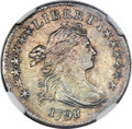 Early Dimes, 1798/97 10C 16 Stars Reverse, JR-1, R.3, MS60 NGC....