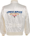Music Memorabilia:Costumes, The Jacksons Rare Victory Promotional Tour Jacket (1984)....