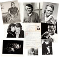 Music Memorabilia:Photos, Chet Baker Original Photo Archive With Visa Application AndClothing....