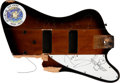 Music Memorabilia:Instruments , Mötley Crüe - Nikki Sixx Stage Smashed and Signed Bass (1997).. ...