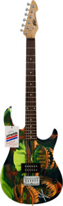 Musical Instruments:Electric Guitars, Vince Neil Signed Guitar (Peavey, c. 2008)....