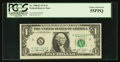 Error Notes:Miscellaneous Errors, Fancy Serial Number K00500000B Fr. 1908-K $1 1974 Federal Reserve Note. PCGS Choice About New 55PPQ.. ...