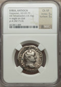 Ancients:Roman Provincial , Ancients: SYRIA. Antioch. Vespasian (AD 69-79). AR tetradrachm(14.16 gm)....