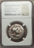 Ancients:Greek, Ancients: MACEDON. Under Roman Rule. First Meris. Ca. 167-149 BC.AR tetradrachm (16.75 gm)....