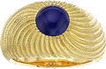 Estate Jewelry:Rings, Lapis Lazuli, Gold Ring, Schlumberger Studios for Tiffany & Co.. ...