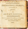 Books:Children's Books, [Miniature Books]. Cabinet of Lilliput. Instructive Stories;Consisting of Jenny, and Edgar and Florentine. London: ...
