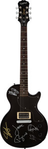 Musical Instruments:Electric Guitars, Roger Daltrey, Slash, Jack Bruce, and Others Signed Guitar(Epiphone, 2007)....