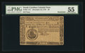 Colonial Notes:South Carolina, South Carolina December 23, 1776 $8 PMG About Uncirculated 55.. ...