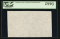 "Fractional Currency:First Issue, ""CSA"" Watermarked Paper - Single Block. PCGS Superb Gem 67PPQ.. ..."