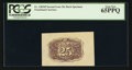 Fractional Currency:Second Issue, Fr. 1283SP 25¢ Second Issue Wide Margin Back PCGS Gem New 65PPQ.. ...
