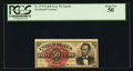 Fractional Currency:Fourth Issue, Fr. 1374 50¢ Fourth Issue Lincoln PCGS About New 50.. ...