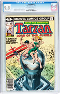 Bronze Age (1970-1979):Adventure, Tarzan #28 (Marvel, 1979) CGC NM/MT 9.8 Off-white to white pages....