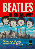 Music Memorabilia:Autographs and Signed Items, Beatles Front-Cover Signed Beatles on Broadway Fan Book,Signed Again Inside by McCartney (1964). ...