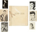 Music Memorabilia:Documents, Elvis Presley Fan Club Images and Scrapbook (Early 1960s)....