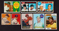 Baseball Cards:Lots, 1940's - 1970's Topps Baseball Superstars & HoFers Rookie Cards(8). ...