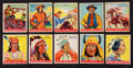 "Non-Sport Cards:Sets, 1933-41 Goudey ""Indian Gum"" Card Collection (66). ..."