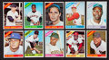 Baseball Cards:Sets, 1966 Topps Baseball Low and Middle Series Complete Run (522/598). ...