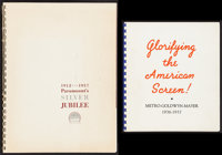"""MGM Exhibitors Book & Other Lot (MGM, 1936-1937). Spiral Bound Exhibitor Books (2) (Multiple Pages, 8"""" X 9&..."""