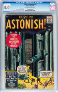 Silver Age (1956-1969):Horror, Tales to Astonish #1 (Marvel, 1959) CGC VG 4.0 Off-white to whitepages....