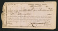 Confederate Notes:Group Lots, Interim Depository Receipt Richmond, (VA)- $1000 June 27, 1864Tremmel VA-140.. ...