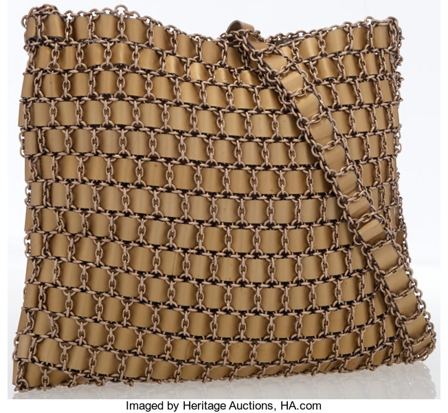 685e3155fb5a Bottega Veneta Gold Woven Chain Bag. ... Luxury Accessories Bags ...