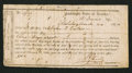 Confederate Notes:Group Lots, Interim Depository Receipt Mobile, (AL)- $100 Mar. 24, 1864 TremmelAL-78. . ...