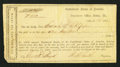 Confederate Notes:Group Lots, Interim Depository Receipt Selma, AL- $100 Mar. 15, 1864 TremmelAL-158. . ...