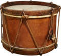 Military & Patriotic:Revolutionary War, Post-Civil War Snare Drum Made by Lyon and Healy....