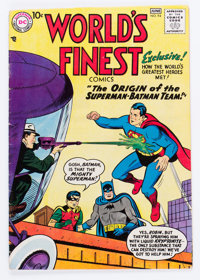 World's Finest Comics #94 (DC, 1958) Condition: VG/FN