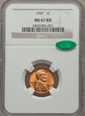 1947 1C MS67 Red NGC. CAC....(PCGS# 2752)