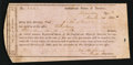 Confederate Notes:Group Lots, Interim Depository Receipt Salisbury, (NC)- $500 March 30, 1864Tremmell NC-145.. ...